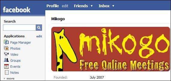 Mikogo Facebook