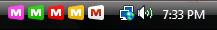 tray icons vista