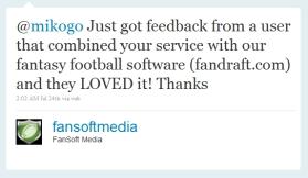 Fandraft Mikogo Tweet