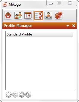 Profile Manager Standard Profile