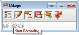 Mikogo Start Recording