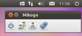Mikogo Linux panel