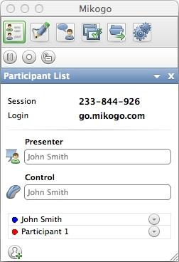 Mikogo (Mac OS X Version) full screenshot