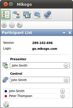 Mikogo (Linux Version) full screenshot