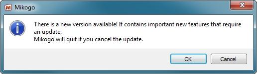 Mikogo Version 4.3 Upgrade