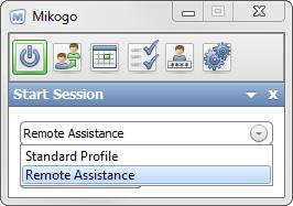 Start remote assistance