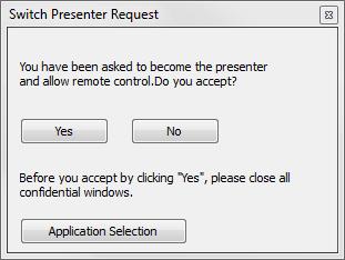Switch Presenter Request