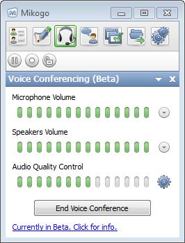 Mikogo Voice Conferencing