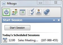 Start Scheduled Session