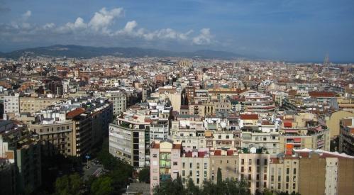 Barceloneta Skyline