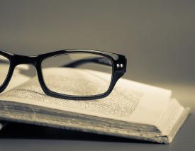 Reading Glasses Book